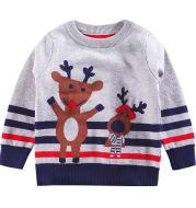 Korean knitted pullover