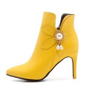 Boots high heel ankle boots