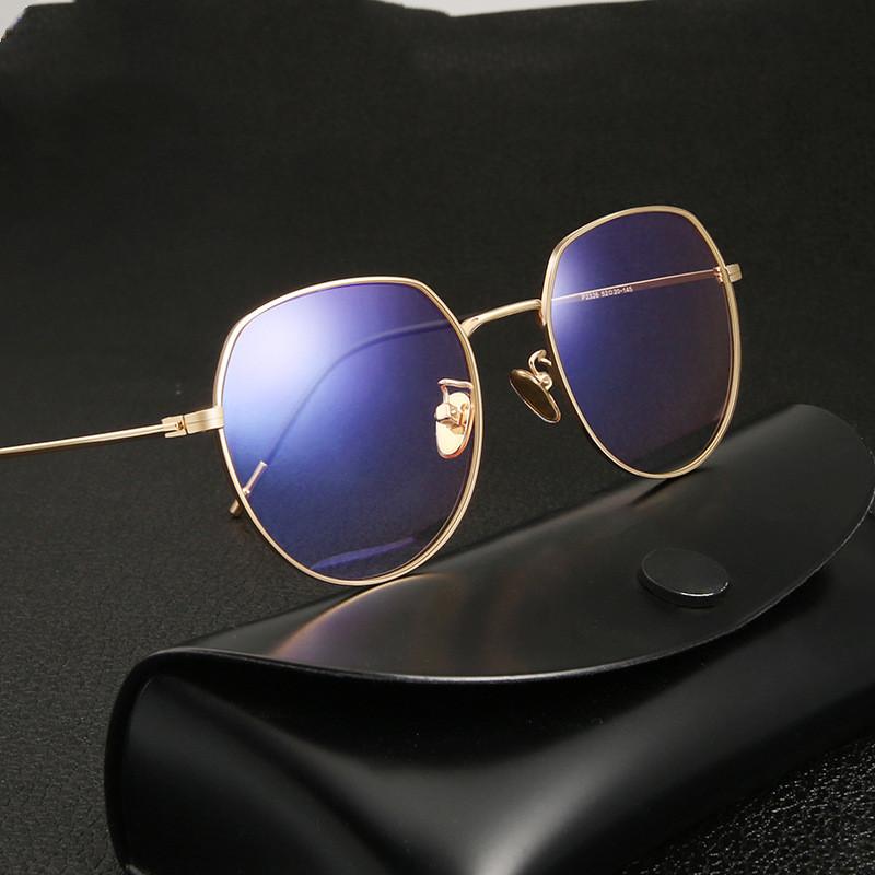 Round Blue Light Blocking Glasses 59821 22