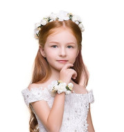 Children's wreath hand flower set