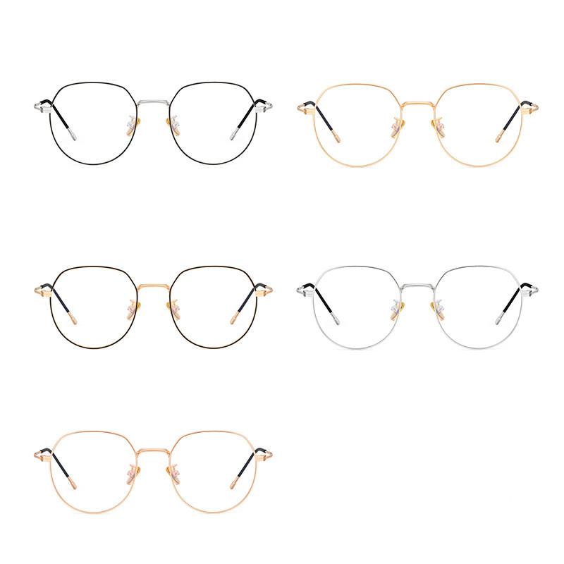 Round Blue Light Blocking Glasses 59821 21