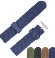 Woven canvas strap