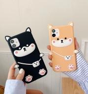 Chai dog silicone mobile phone case