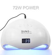 72W UVLED Dual Light Solar Nail Lamp