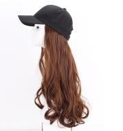 Cap big wave wig