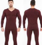 Men's autumn clothing long pants suit youth base