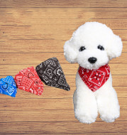 Neck Scarf Bandana Collar Neckerchief Adjustable Pet Dog Puppy Cat Pet Supplies