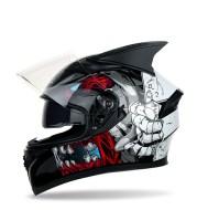 Four seasons corner motorcycle racing helmet