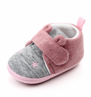 Newborn cotton baby shoes with soft soles