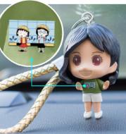 DIY Handmade Creative Keychain Car Pendant