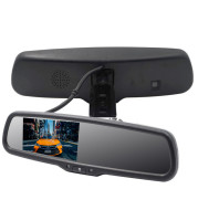 4.3 inch monitor with auto-dimming rearview mirror