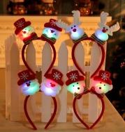 Christmas headband with lights