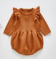 Baby cotton romper