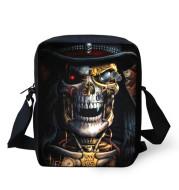 European and American Skull Children's Messenger Bag