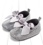Diamond-studded baby toddler shoes