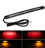 Universal Flexible Led Strip Tail Stop Light Motorcycle 48 SMD Led Tail Turn Signal Brake License Plate Light Strip Motorcycle