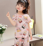 New Korean version of children's home wear and pajamas