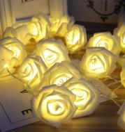 LED Rose Flower Lights