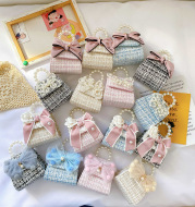 Pearl handbag children bag