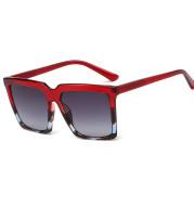 Retro versatile large frame sunglasses