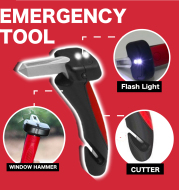 Multifunctional Car Support Auto Assist Handle Portable Car Kit Vehicle Emergency Escape Hammer Window Breaker Cutter