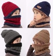 Warm knitted hat children's cap