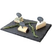 Stone western-style mat SLATE plate mat