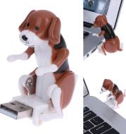 Portable Mini Cute Office Worker Cartoon USB Toy