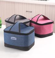 Bento bag widened portable cooler bag