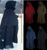 Long sleeve wizard wizard cloak