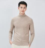 Full wool sweater men's two lapels