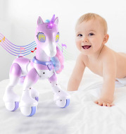 Electric Smart Pet Children Robot Touch Induction Toy