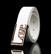 Men's Women's LOVE Buckle Belt