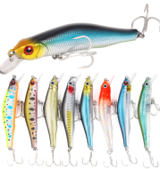 Bronzing laser minnow fishing bait