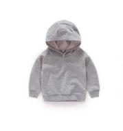 Children's hooded Pullover Sweater autumn boys' Top Girls' Autumn