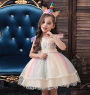 Princess show wedding dress