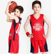 Kids Basketball Jerseys Custom for Boy Girl Sports Kit Jerseys Youth Team Training Uniform Set Breathable Quick Dry Shorts Suits