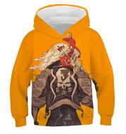 Cyberpunk 3D Full Color Children's Cweater Hoodie