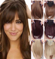 Hair Bangs Hairpiece Accessories Synthetic Fake Bangs
