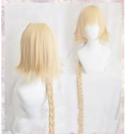 Fate Apocrypha Joan of  FGO Ruler braid cosplay wig