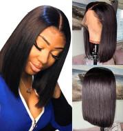 Straight human hair wigs13 * 4 Brazilian Hair