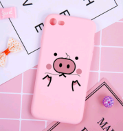 Applicable iphone 6sPlus pink pig mobile phone shell iphoneX cartoon cute mobile phone protective cover