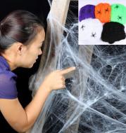 Halloween Decoration Spider Cotton Spider Web