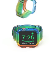 Watch Band Rainbow Limited Integrated TPU Transparent Strap