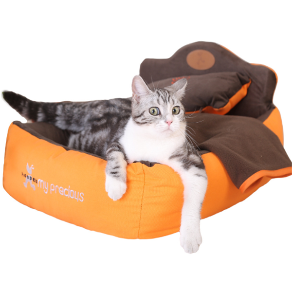 Three-piece Goghouse Pets Bed Removable