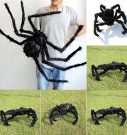 Halloween Decoration Spider Plush Spider Web