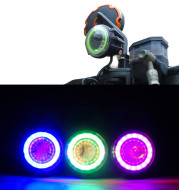 Motorcycle modified super bright headlights