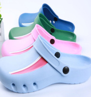 Baotou new operating shoes surgical protective shoes doctors' protective shoes EVA antiskid protective shoes ICU experimental shoes slippers