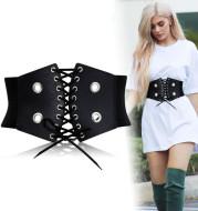 Lace-up tie belt Girdle