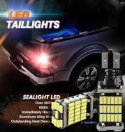 Car 12v Brake Lamp Super Bright Reversing Light 45 SMD 4014 LED Canbus